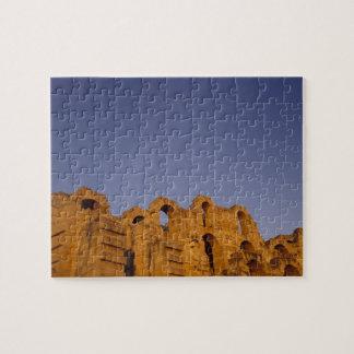 Africa, Tunisia,  El Jem. Ruins of a Roman Jigsaw Puzzle