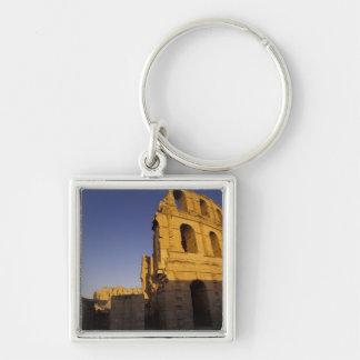Africa, Tunisia, El Jem. Ruins of a Roman Keychain