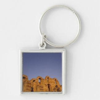 Africa, Tunisia,  El Jem. Ruins of a Roman Keychains