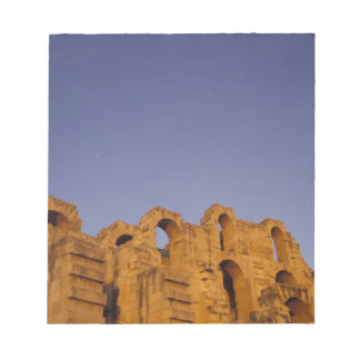 Africa, Tunisia,  El Jem. Ruins of a Roman Note Pad