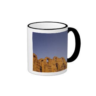 Africa, Tunisia,  El Jem. Ruins of a Roman Ringer Mug