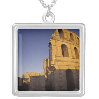 Africa, Tunisia, El Jem. Ruins of a Roman Silver Plated Necklace