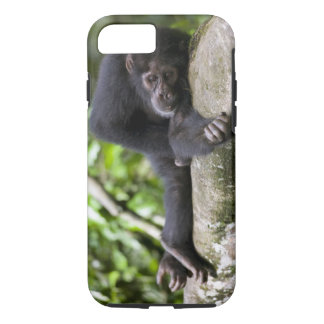 Africa, Uganda, Kibale Forest Reserve, Young iPhone 7 Case