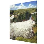 África, Uganda, las cataratas Murchison NP. El esp Impresión En Tela