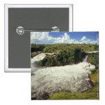 África, Uganda, las cataratas Murchison NP. El esp Pin Cuadrada 5 Cm