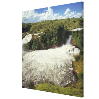 Africa, Uganda, Murchison Falls NP. The frothy Canvas Print