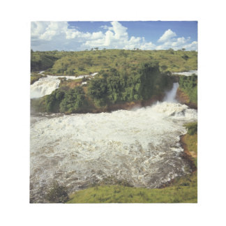 Africa, Uganda, Murchison Falls NP. The frothy Memo Notepad