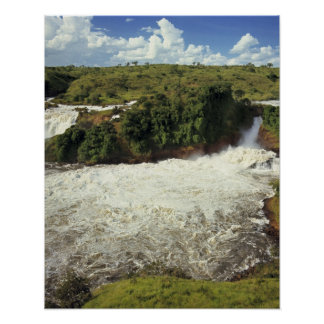 Africa, Uganda, Murchison Falls NP. The frothy Poster