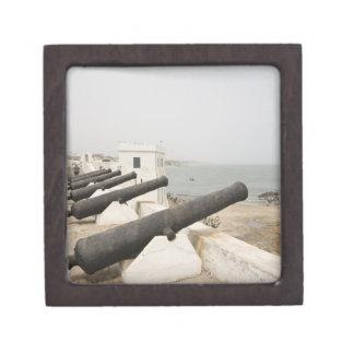 Africa, West Africa, Ghana, Elmina. Canons gaurd Gift Box