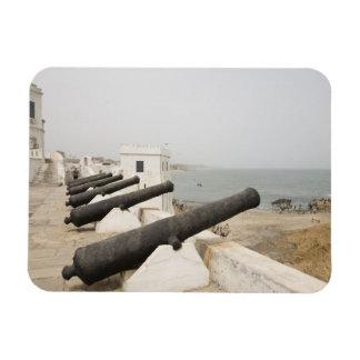 Africa, West Africa, Ghana, Elmina. Canons gaurd Magnet