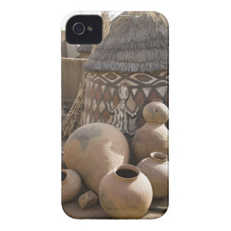 Africa, West Africa, Ghana, Sirigu. Handcrafted iPhone 4 Case-Mate Cases