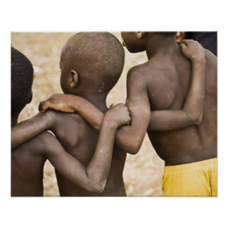 Africa, West Africa, Ghana, Yendi. Close-up shot Poster
