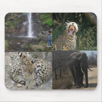 Africa Wildlife Mousepad