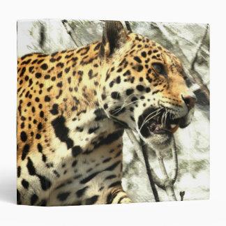 africa wildlife safari animal Wild Leopard Binder