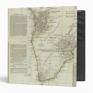 Africa, with all its states, kingdoms binders