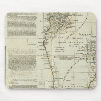 Africa, with all its states, kingdoms mousepad