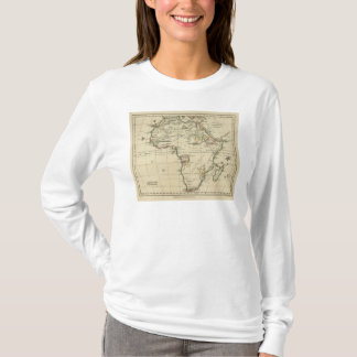 Africa with boundaries outlined T-Shirt