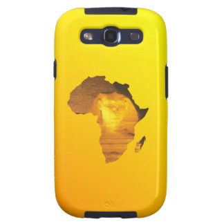 Africa with the Sphinx Samsung Galaxy S3 Case