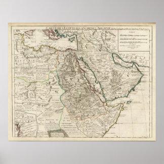 África y Egipto Póster