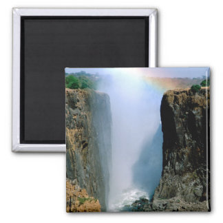 Africa, Zambia, Victoria Falls National Park. Magnet