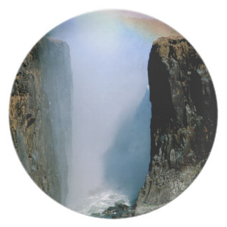 Africa, Zambia, Victoria Falls National Park. Plates