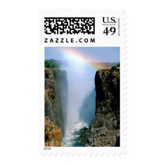 Africa, Zambia, Victoria Falls National Park. Postage