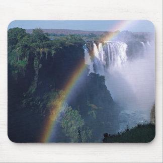 África, Zimbabwe. Las cataratas Victoria Alfombrilla De Ratones