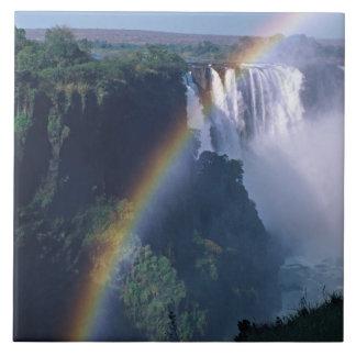 África, Zimbabwe. Las cataratas Victoria Teja Cerámica
