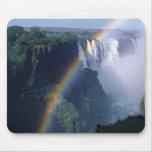 África, Zimbabwe. Las cataratas Victoria Tapetes De Ratones