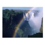 África, Zimbabwe. Las cataratas Victoria Tarjeta Postal
