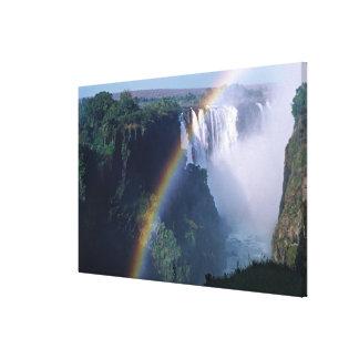 Africa, Zimbabwe. Victoria Falls Canvas Print