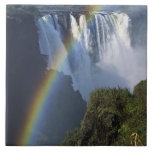 "Africa, Zimbabwe, Victoria Falls Ceramic Tile<br><div class=""desc"">COPYRIGHT Charles Sleicher / DanitaDelimont.com 