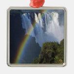 Africa, Zimbabwe, Victoria Falls Metal Ornament