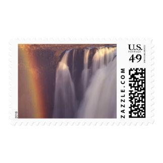 Africa, Zimbabwe, Victoria Falls. Stamp