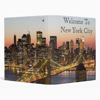 Africakoko custom New York avery binders