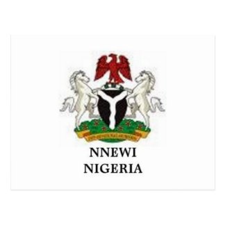 Africakoko custom Nnewi Nigeria poster Postcard