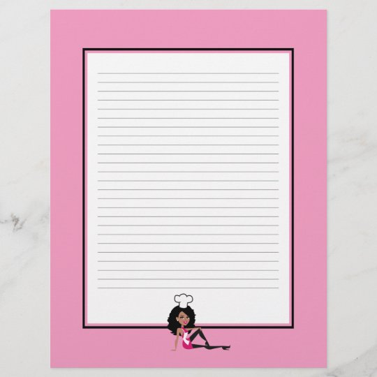 cooking chapter divider pages for recipe binders zazzle com