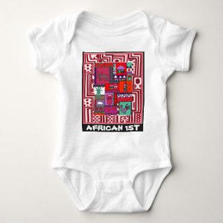 African 1st - Village life - Aftrican Art Shirt