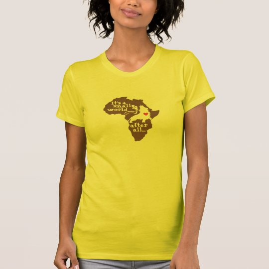 African Adoption Small World T-Shirt