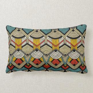 African Africa Pattern Print Design Lumbar Pillow