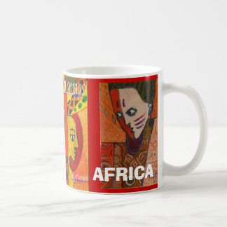 african, african1, TWO FACE, AFRICA, I LOVE AFRICA Mugs