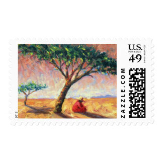 African Afternoon 2003 Postage Stamp
