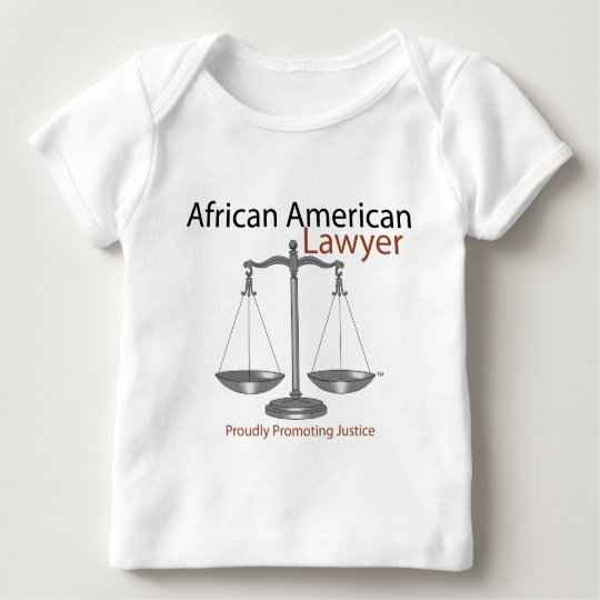 African America Lawyer Baby T-Shirt