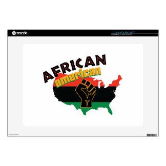 "African American 15"" Laptop Skins"