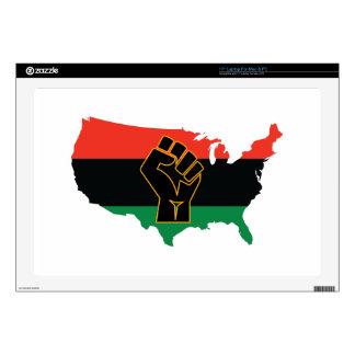 "African American  17"" Laptop Decals"
