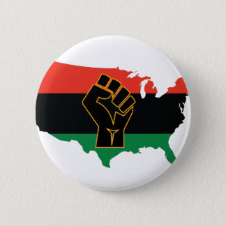 African American   Pinback Button