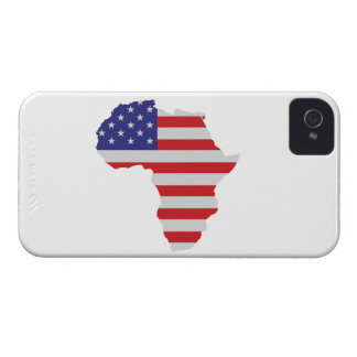 African American Africa United States Flag iPhone 4 Case-Mate Cases