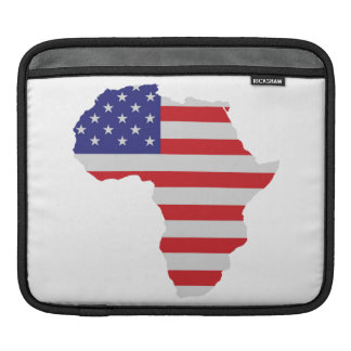 African American Africa United States Flag Sleeve For iPads