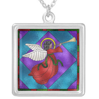 African American Angel Necklaces
