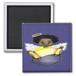 African American Angel Refrigerator Magnets